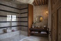Superior Suite Room #13 with Turkish Hamam-style bathroom